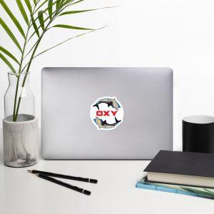 [Parody] [#EFT] Oxy Great White on Blue Field Logo Stickers